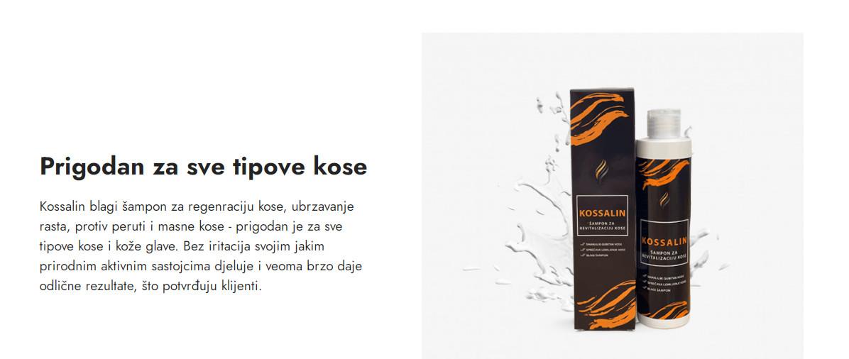 kossalin7 - Kossalin šampon za brzi rast kose